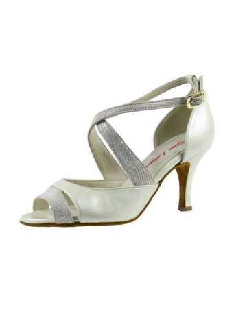 chaussures de salsa ou de danse de salon ROSSO LATINO PERLA 70