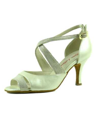 chaussures de danse de salon ROSSO LATINO PERLA 70
