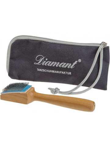 brosse métallique DIAMANT pour les semelles des chaussures de danse de salon