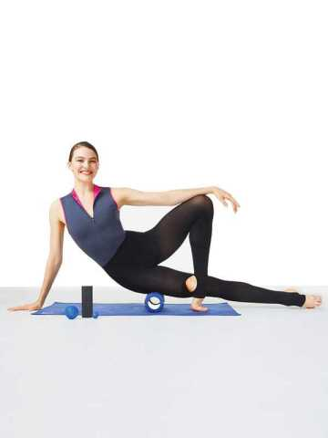 kit de massage pour éliminer les tensions des muscles GAYNOR MINDEN roller kit