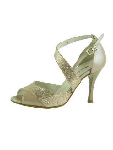 chaussures de tango, de salsa ou de danse de salon ROSSO LATINO VIOLA 90